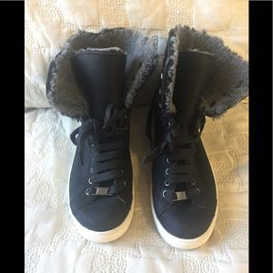 UGG Genuine Shearling Lined Sneaker Boot.